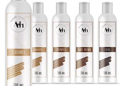 Supports de com : ASH beauty