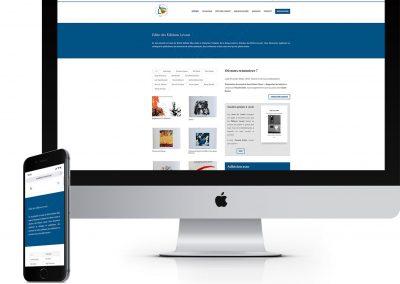 Site web : Éditions Levant